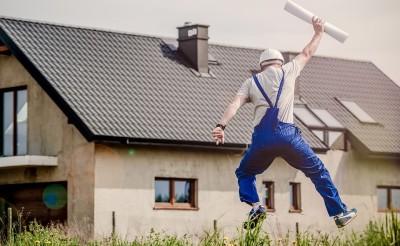 Kontenery budowlane po budowie domu
